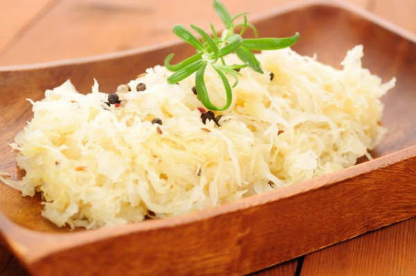 Are You Sick of Feeling Sick - These 4 Steps Can Help You Naturally Heal Your Immune System - fermented sauerkraut